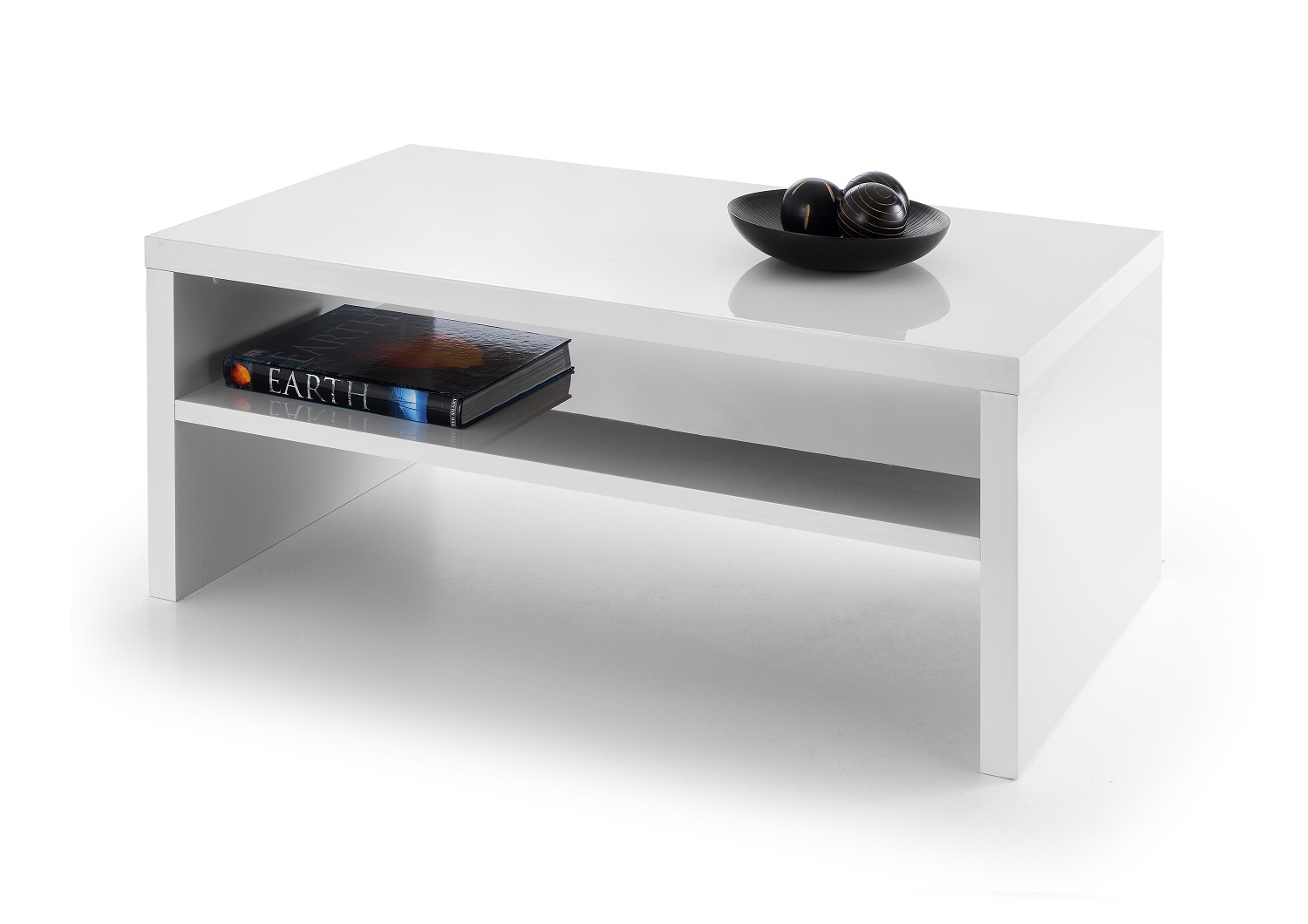 JULIAN BOWEN Metro White High Gloss Coffee Table £94.99